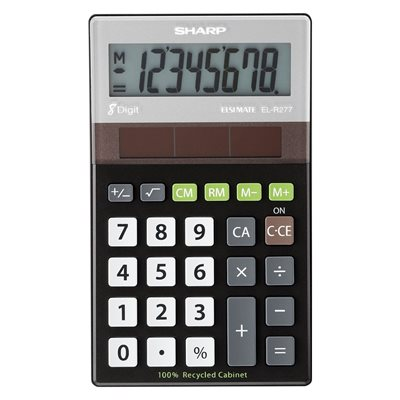 Calculatrice de poche EL-R277