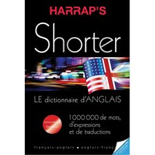 Dictionnaire bilingue Harrap's Shorter