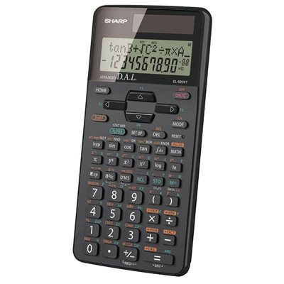 Calculatrice scientifique EL520XTBBK