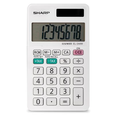 Calculatrice de poche EL-244W