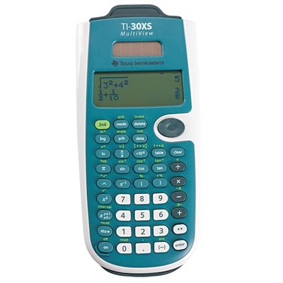 Calculatrice scientifique TI-30XS Multiview